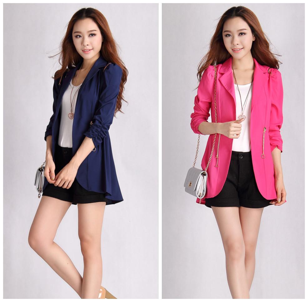 Casual Cotton Blazer For Women Casual Blazer Coat Women