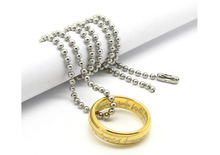 2015 New Fashion Retro Gold Silver Plated the hobbit and the lord of the rin g