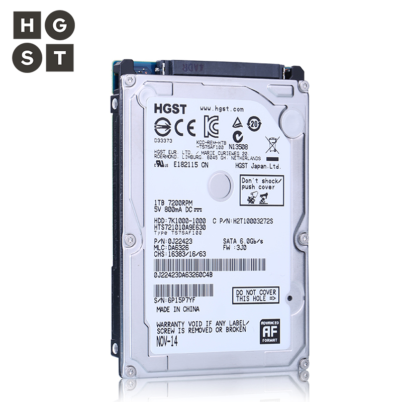 "HGST original 2.5"" Internal Laptop Hard Drives disk 1tb SATAIII HDD 1TB 7200RPM 32M(1000GB) for Notebook HTS721010A9E630(China (Mainland))"