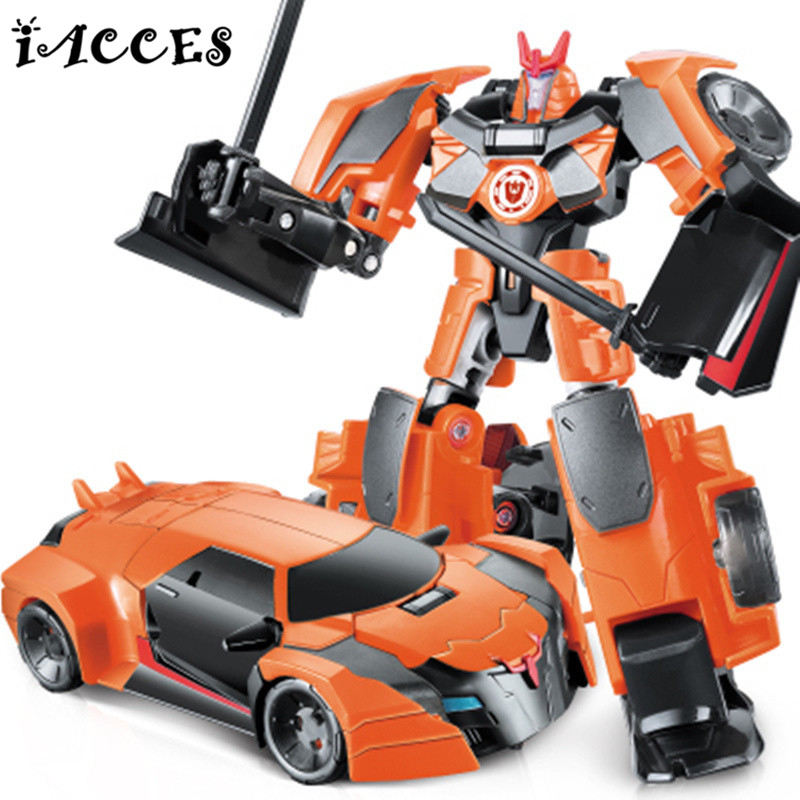 NEW Anime Series Action Figure Toys Transformation 4 Robot Car ABS Plastic Class Cool juguetes Model Boy Toy Christmas Gifts(China (Mainland))