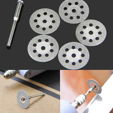 10pc 22mm Rotary Tool Accessory Fits Dremel Craftsman Diamond Cut Off Wheel Disc
