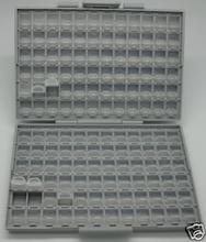 SMD Resistor Capacitor Storage Box Organizer 0603 0402 UK DE USA Ship(China (Mainland))