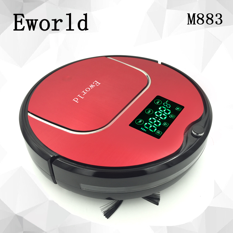 Eworld 2016 NEW Robot Vacuum Cleaner with Big Garbage Box,Electronics Cleaner with Big Mop for Home Cleaning(China (Mainland))