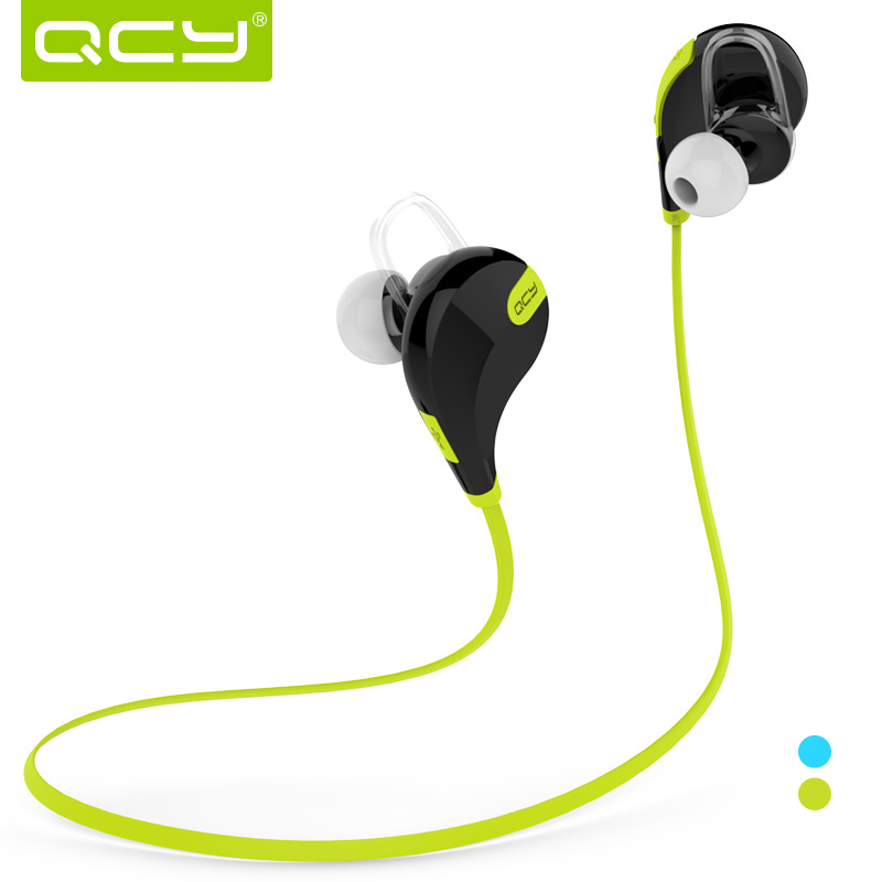 Qcy qy7 sports wireless bluetooth earphones general 4.0 stereo headset mini double ear - Ibluetooth Electronics store