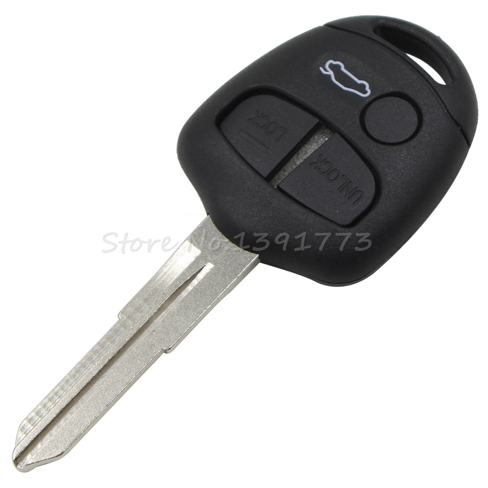 Replacement 3 Buttons Remote Key Shell For Mitsubishi Lancer Outlander Colt Mirage -in Tire ...