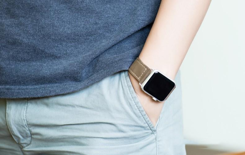 100% натуральная кожа для Apple , часы 42 мм 38 мм с 1:1 оригинальный классический пряжки и металлическое ремешки бесплатная доставка