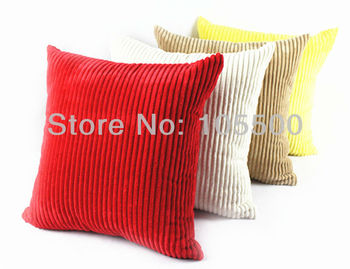 Free Shipping N/P Corduroy Cushion Cover Many Colors In Stock & Customization HT-NPCDC-03