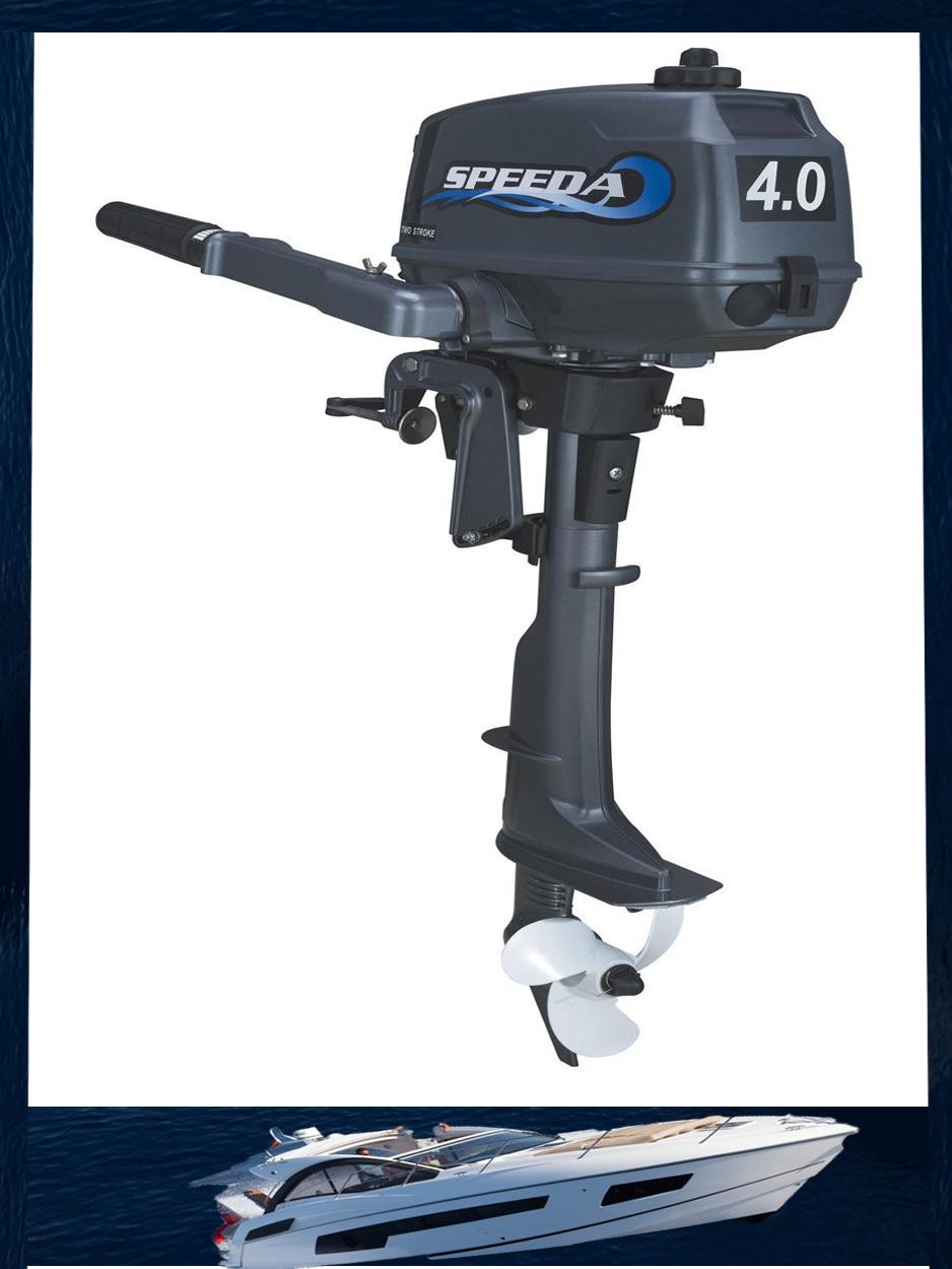 Hot selling model speeda 4hp outboard motors two stroke for 2 stroke boat motors