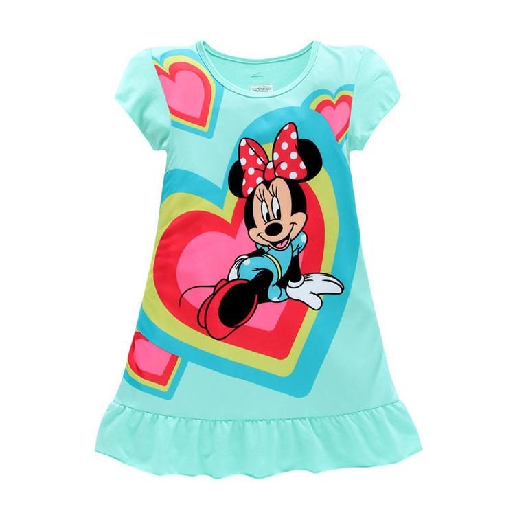 girls dress summer Baby girl dress little pony cotton child dress kids clothes wear children dress baby girls clothes