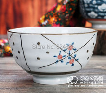 Endulge japanese style tableware ceramic rice bowl massifs 5 decorative pattern unique