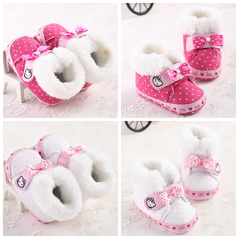 New Fashion Super Warm Infant Toddler Kids Winter Keep Warm Boots Booties Crib Bebe First Walkers Shoes For Newborn Baby(China (Mainland))