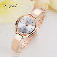 Lvpai Brand Fashion Women Dress Watch Gold Silver Stainless Steel High Quality Female Quartz watches Lady Wristwatch(China (Mainland))