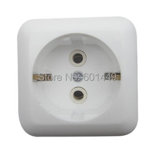 Consumer Electronics> Electrical Equipment> European sockets> Switches>European ceramic surface mounted socket>M-001