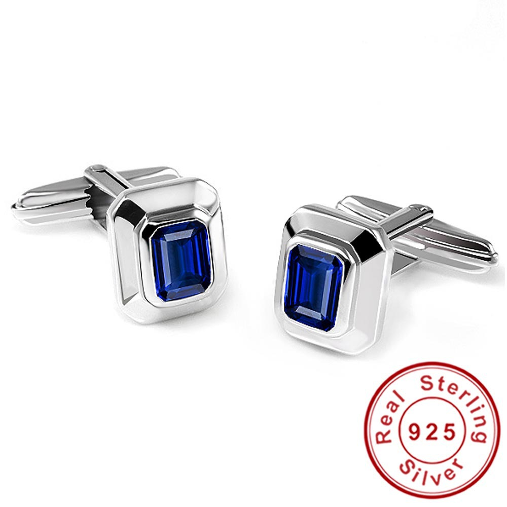 Blue Sapphire Jewelry Shirt Cu