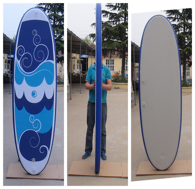 New SUP Stand Up Paddle Board Kayak Wave Board Land SurfBoard inflatable stand up paddle board(China (Mainland))