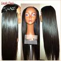 Wholesale Price Soft U Part Wig Yaki Straight Human Hair Peruvian Virgin Human Hair Upart Wig Straight Style Middle Part U Space