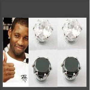 Free Shipping New 2014 Fashion Classic Magnetic Earrings For Men Women Gay Without Pierced Ears(China (Mainland))