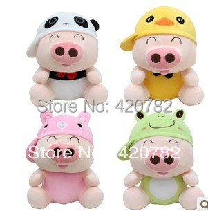 70cm 1 pcs New Arrival McDull 4 Different Animal Hat Models Plush Toy Doll Pillow Giant Christmas Birthday Gift Kawaii Design(China (Mainland))