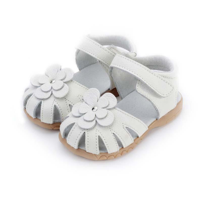 Girls Princess Sandals 2016 Summer Genuine Leather Children Sandals for Girls Flower Kids Sandals for Girls Princess Shoes H666(China (Mainland))