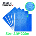 High quality big size 20 21cm 3D Printer Blue Tape 200mm wide 210mm length Heat Bed
