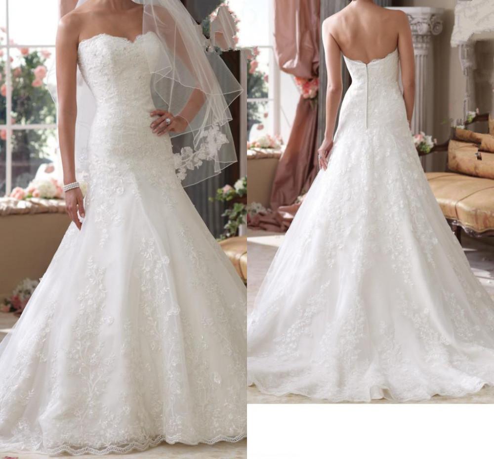 Buy 2015 new sweetheart low waist line for Low waist wedding dress