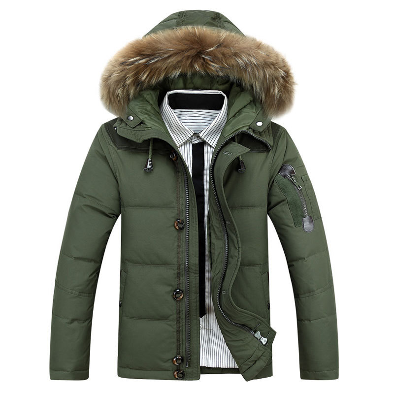 Waterproof Down Jacket Men - Coat Nj