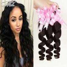 Hot Sale Brazilian Loose Wave Remy Human Hair 6A Grade 8-30 Inch Shedding Free 4bundles/400g Brazilian Loose Weave Bundles