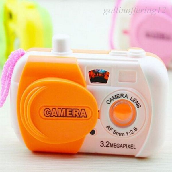 Hot Kids Children Baby Learning Study Projection Camera Educational Toys Gift Sale(China (Mainland))