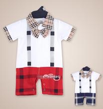 2015 top brand baby boy girl short sleeve romper newborn baby summer clothing cute  vestidos infantis baby clothes(China (Mainland))