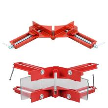 Hot  90 Degree Right Angle Clip Picture Frame Corner Clamp Woodworking Hand Tool Kit drop shipping