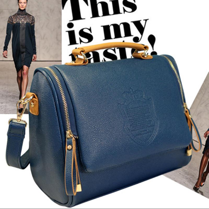 2015 New Arrival Pu Casual Women Solid Cover Women Messenger Bags Handbag Women's Bag Shoulder Bag(China (Mainland))