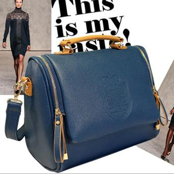 2017 New Arrival Pu Casual Women Solid Cover Women Messenger Bags Handbag Women's Bag Shoulder Bag Drop shipping
