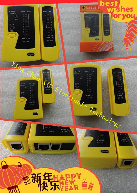 Professional RJ45 RJ11 RJ12 Cat5 Cat6 LAN Cable Tester Handheld Network Cable Tester Wire Telephone Line Detector Tracker Tool
