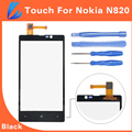 LL TRADER 100 Guarantee Quality Black Replacement Touch Screen Digitizer For Nokia Lumia N820 820 Front
