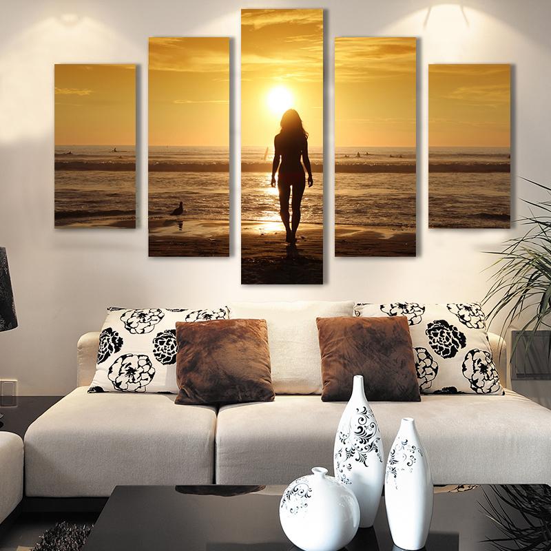 Envio gratis figura pintura al oleo abstracta imprimio la pintura de la pintura al oleo sobre lienzo decoracion del hogar sala(China (Mainland))