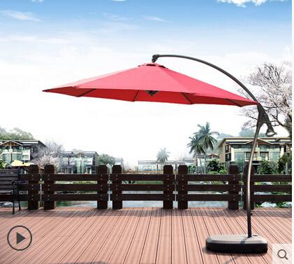 Large outdoor umbrellas patio umbrella banana beach UV sun 3 meters<br><br>Aliexpress