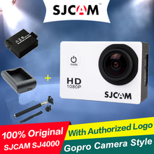 New Arrival Original SJCAM Wifi SJ4000 1080P Extreme Sport  DV FHD Helmet Action Camera Diving 30M Waterproof Camera Gopro Style