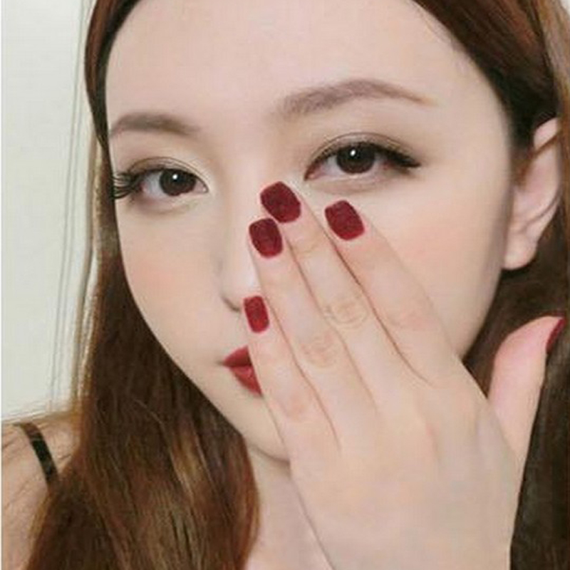 5PCS Velvet Glitter Powder Nail Art Tools Kit Acrylic UV Powder Polish Dust Gem Nail Tools Decorations For Nails(China (Mainland))