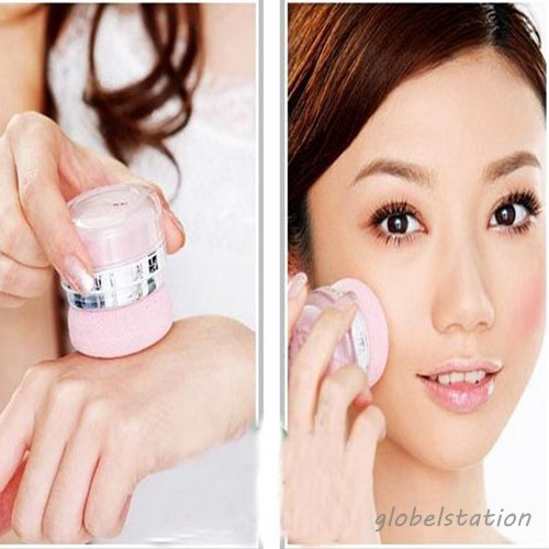 Free Shipping Women Girls 3D Pure Mineral Face Cheek Color Blush Blusher Powder Cosmetic(China (Mainland))