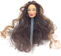 NK One Pcs Authentic FR Doll Head  For FR Dolls 2002 Restricted Version Assortment Brown Hair Greatest DIY Present For Ladies'  Doll 004E