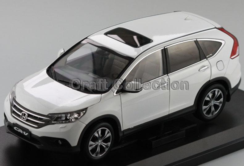 White 1:18 Honda CR-V CRV SUV 2012 Collectable Diecast Model Car Kits Building Vehicle Wholesale(China (Mainland))