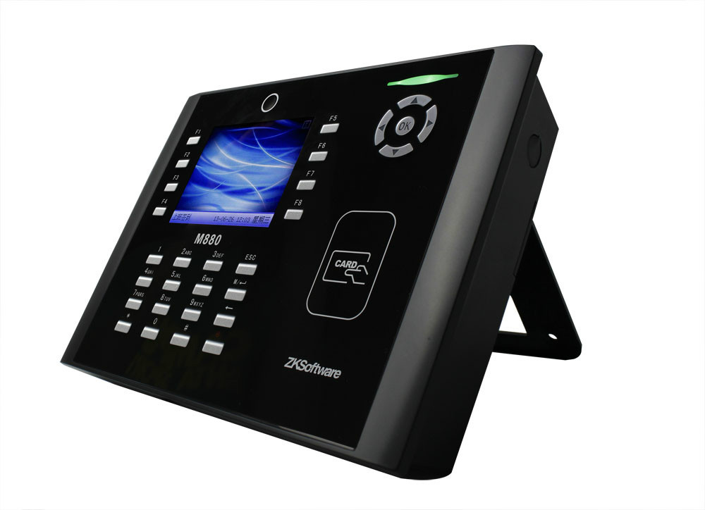 Multimedia proximity time attendance and access control terminal RFID time clock machine M880(China (Mainland))