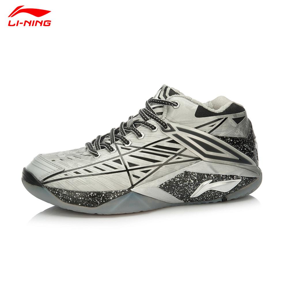 Li-Ning Men High-end Professional Badminton Shoes Chen Long Hero Serie Breathable Hard-Wearing Sports Shoe Lining  AYAK011