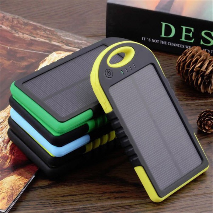 Recycle 12000mAh Portable Waterproof Solar Charger Dual USB External Mible Phone Charging Battery Power Bank for iphone Samsung(China (Mainland))