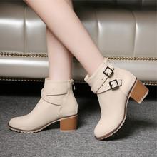 2017 женская обувь старинные Европа звезда моды женщин высокие каблуки шипованные ботинки Снега короткие сапоги молния плюс размер 34-43(China (Mainland))