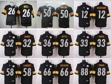 NO-1 New Arrivals Free shipping Best quality Pittsburgh Steelers all players 23 style size S-XXXL(China (Mainland))