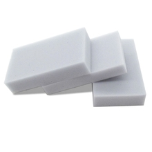 Buy 10*6*2CM 400pcs/lot Gray Melamine Sponge Kitchen Dish Magic Sponge Eraser Clean Multi-functional Cleaning Nano Wholesale for $18.88 in AliExpress store