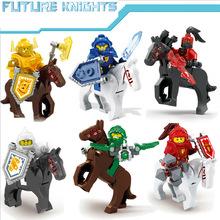 6pcs/set Nexus Knights Future Castle Warrior Building Blocks bricks Compatible legoes kids Toys children - Toy Cabin store