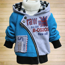 Children's clothing 2016 male child autumn outerwear children autumn and winter sweatshirt outerwear child clothes q17(China (Mainland))