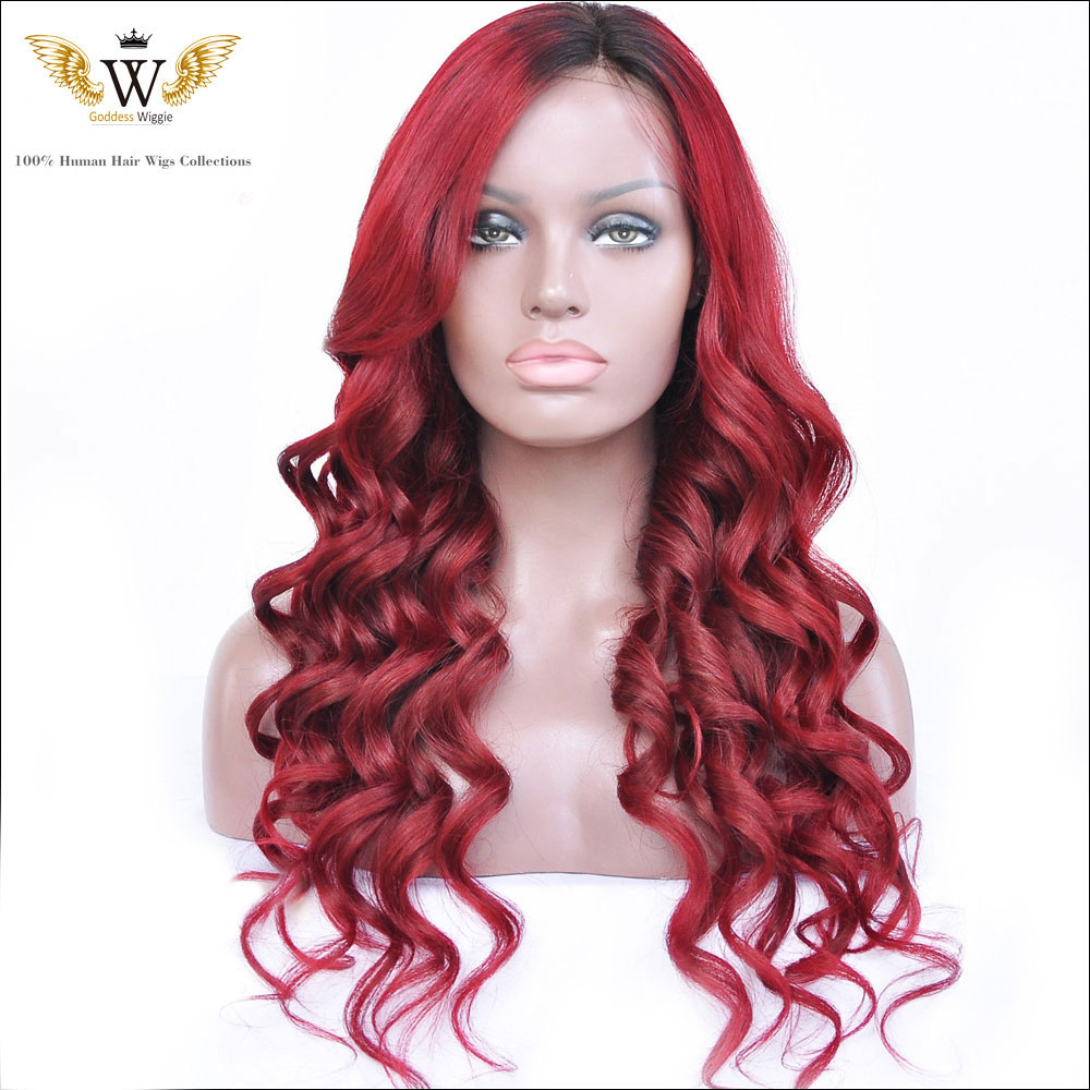 human hair color wikipedia 130density ombre 1b red human